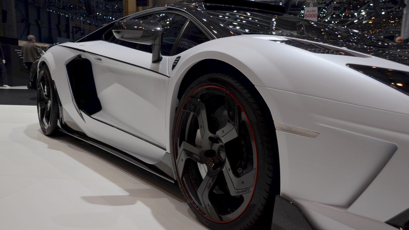 Mansory Aventador Carbonado GT - 2014 Geneva Motor Show live photos
