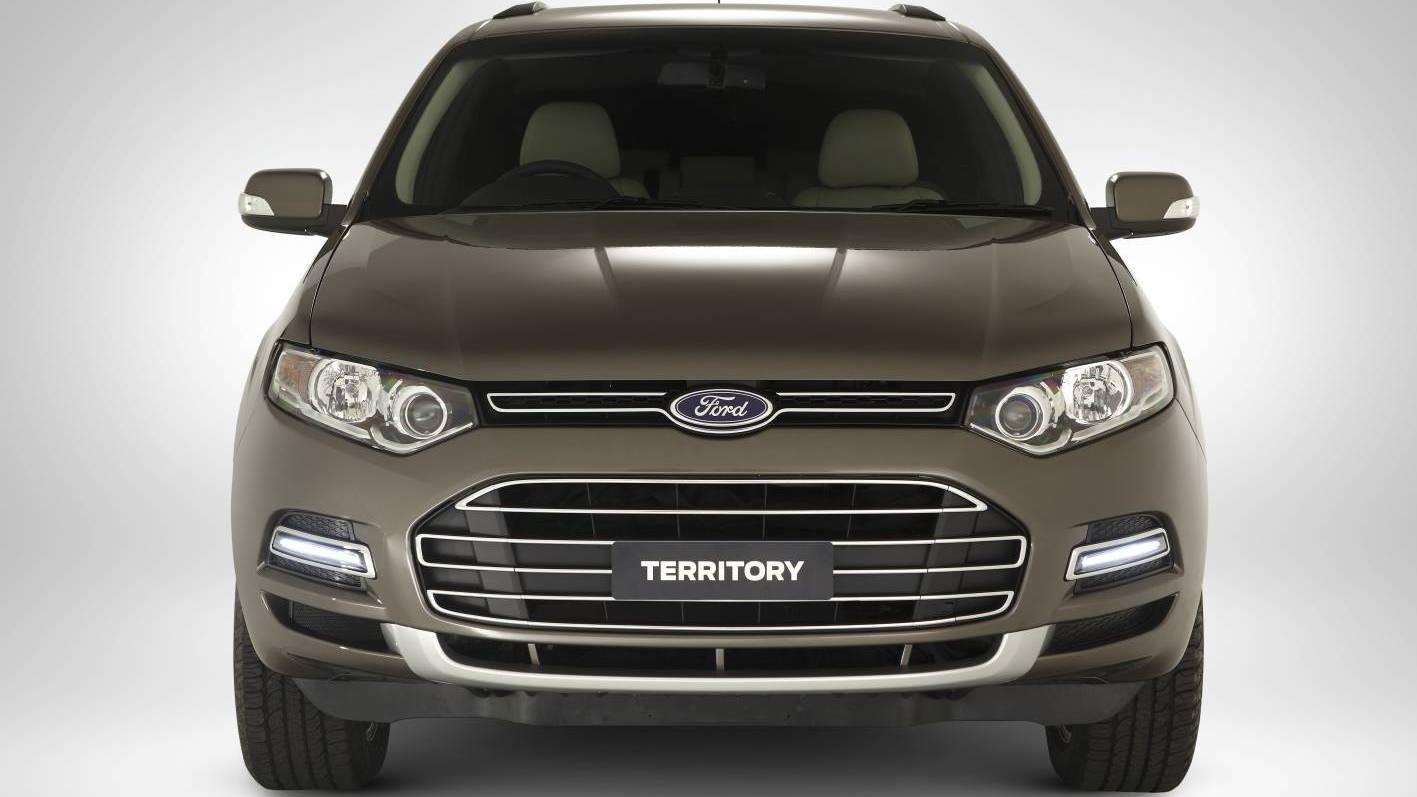Second-gen Aussie Ford Territory SUV
