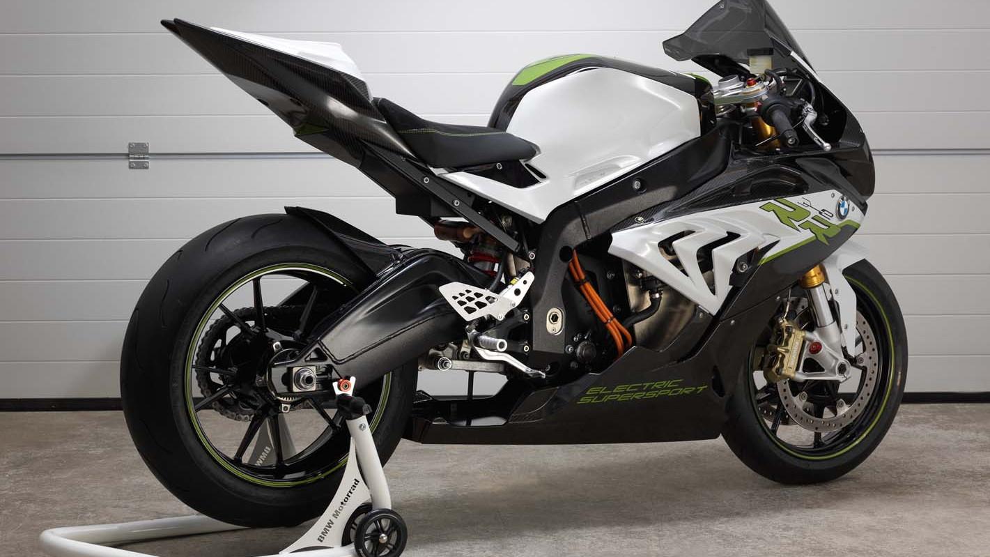 BMW Motorrad eRR electric sport bike concept