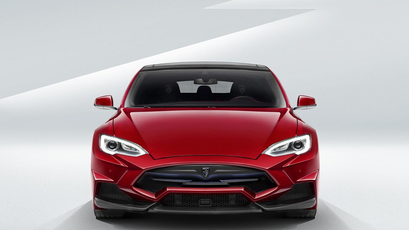 Larte Enigma body kit for Tesla Model S
