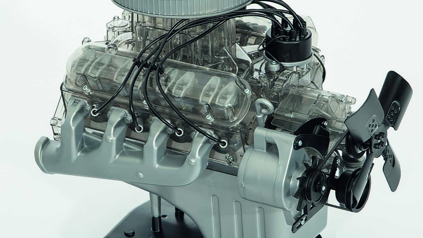 Ford Mustang V-8 model kit