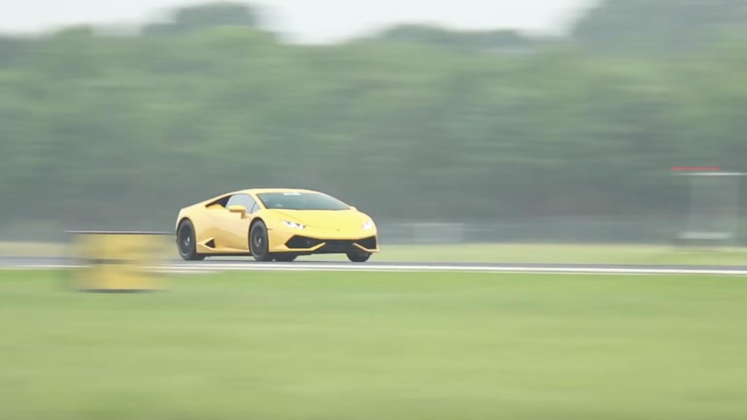 Twin Turbo Lamborghini Huracan Sets New 1 2 Mile World Record Of 250 Mph