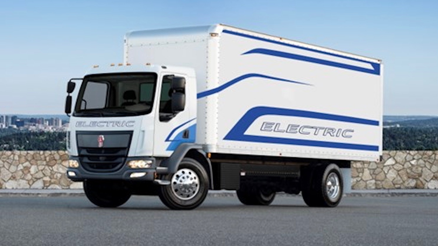 Kenworth K270E electric truck