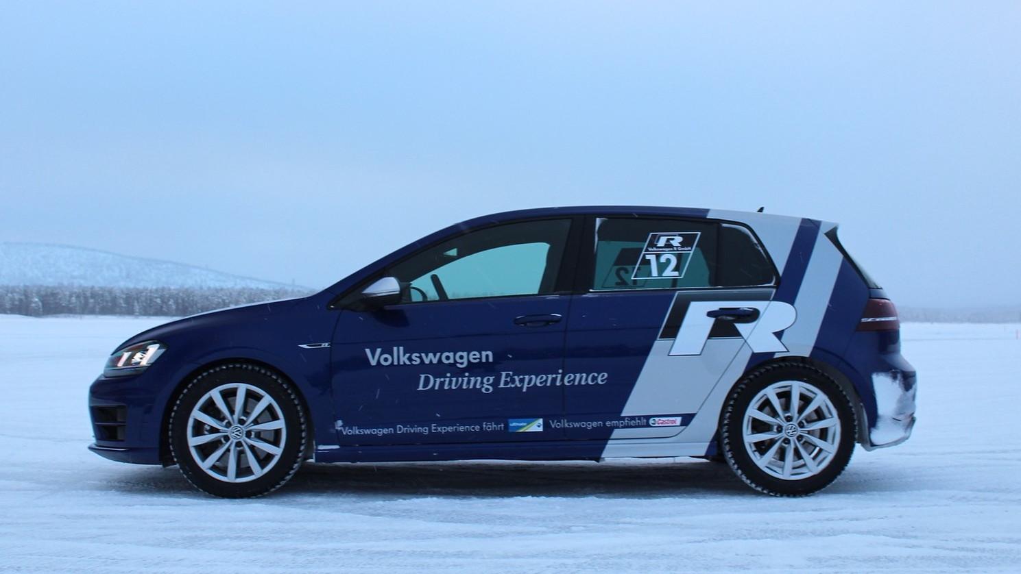 2015 Volkswagen Golf R (Euro spec)  -  Preview Drive, Sweden, January 2014