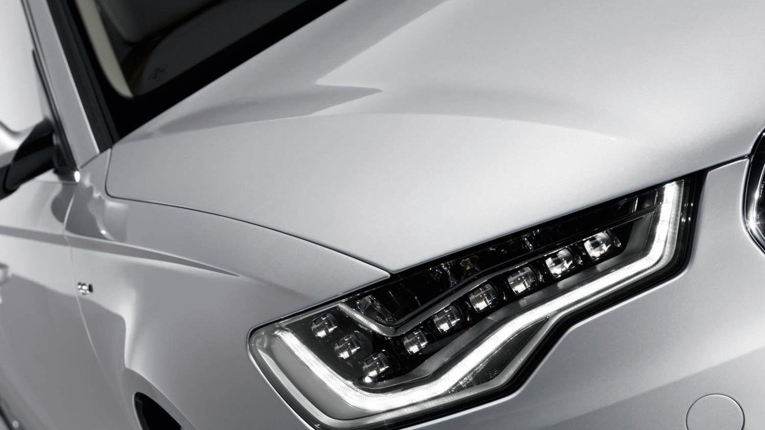 Maintenance-Free All-LED Headlights For 2012 Audi A6 Sedan