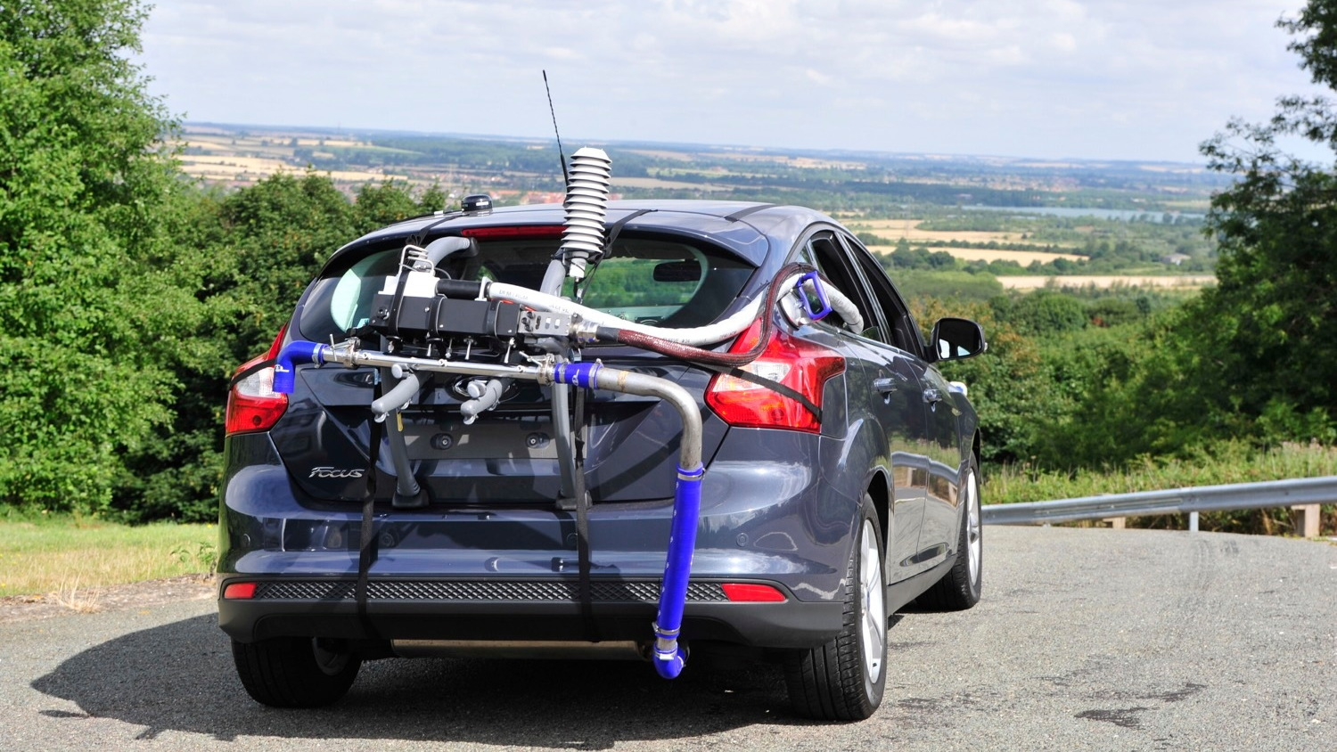 Portable Emissions Measurement System (PEMS) (Photo by Millbrook Proving Ground)