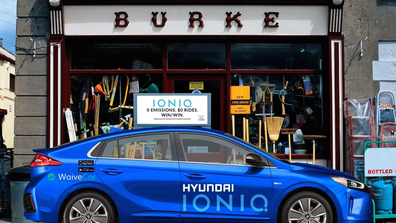 WaiveCar Hyundai Ioniq Electric