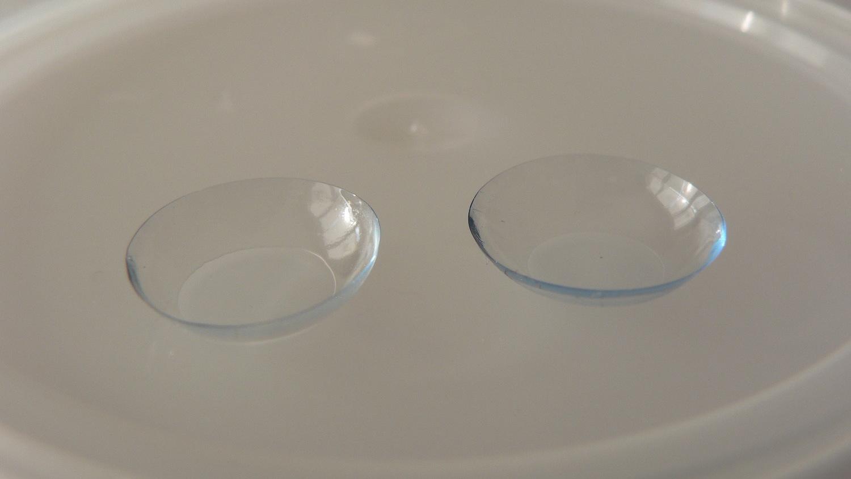 contact lens (photo via Wikimedia Commons)