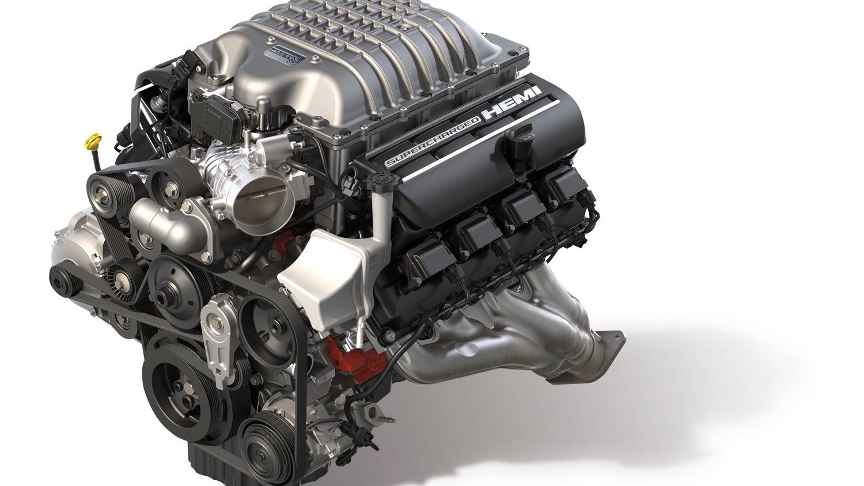 Mopar Hellcat Redeye crate engine