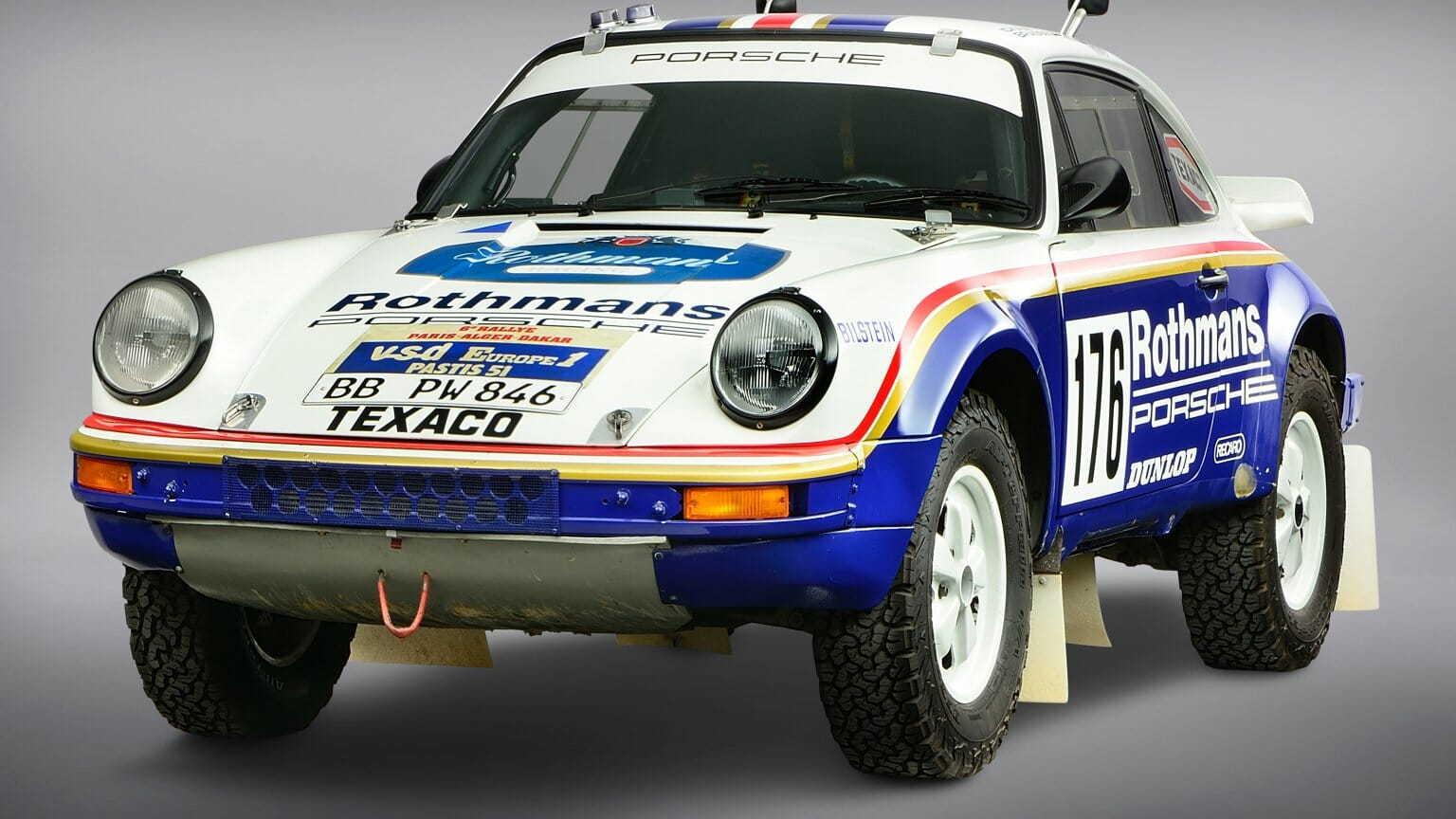 Porsche will showcase 1984 Dakar Rally-winning car