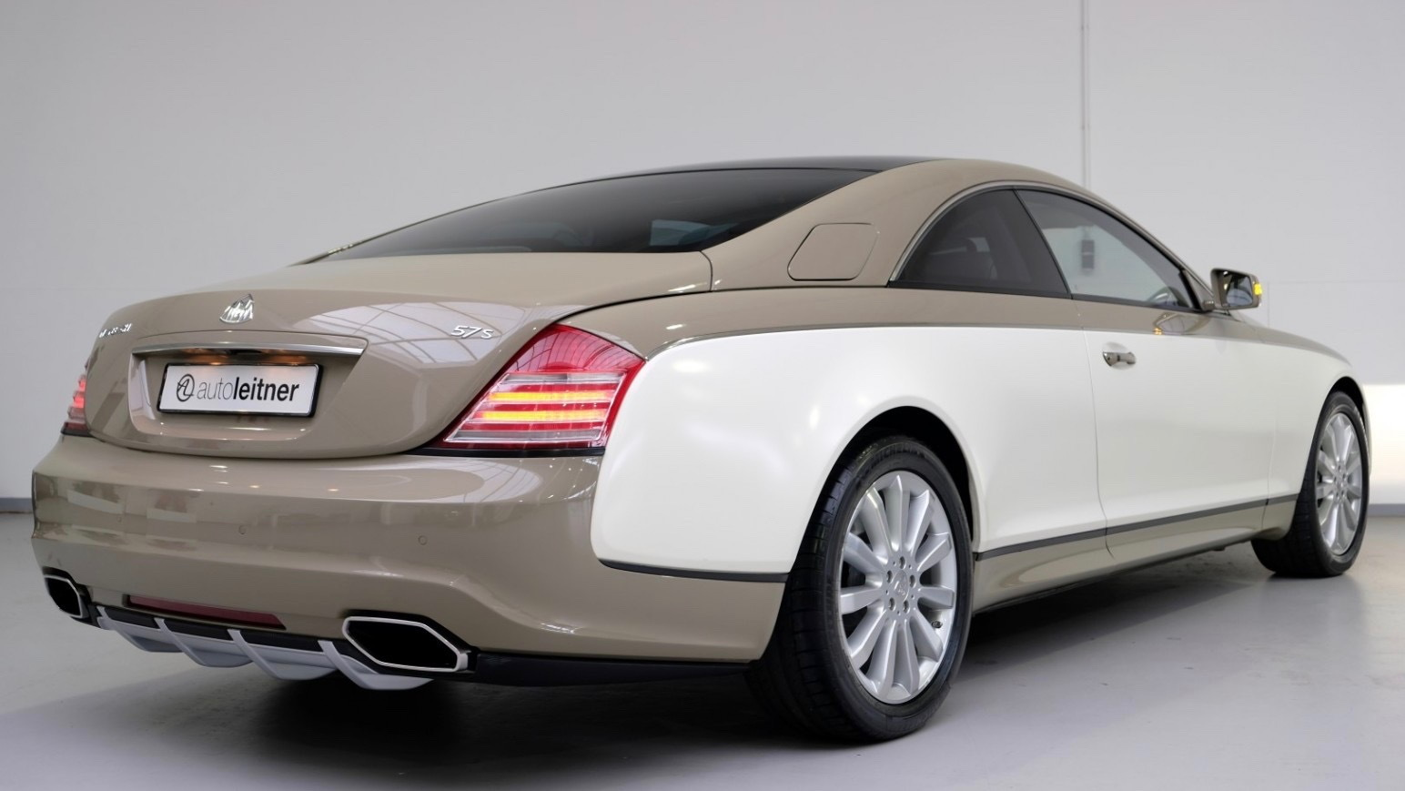 Maybach 57S Coupe built for Muammar Gaddafi (Photo by Autoleitner)