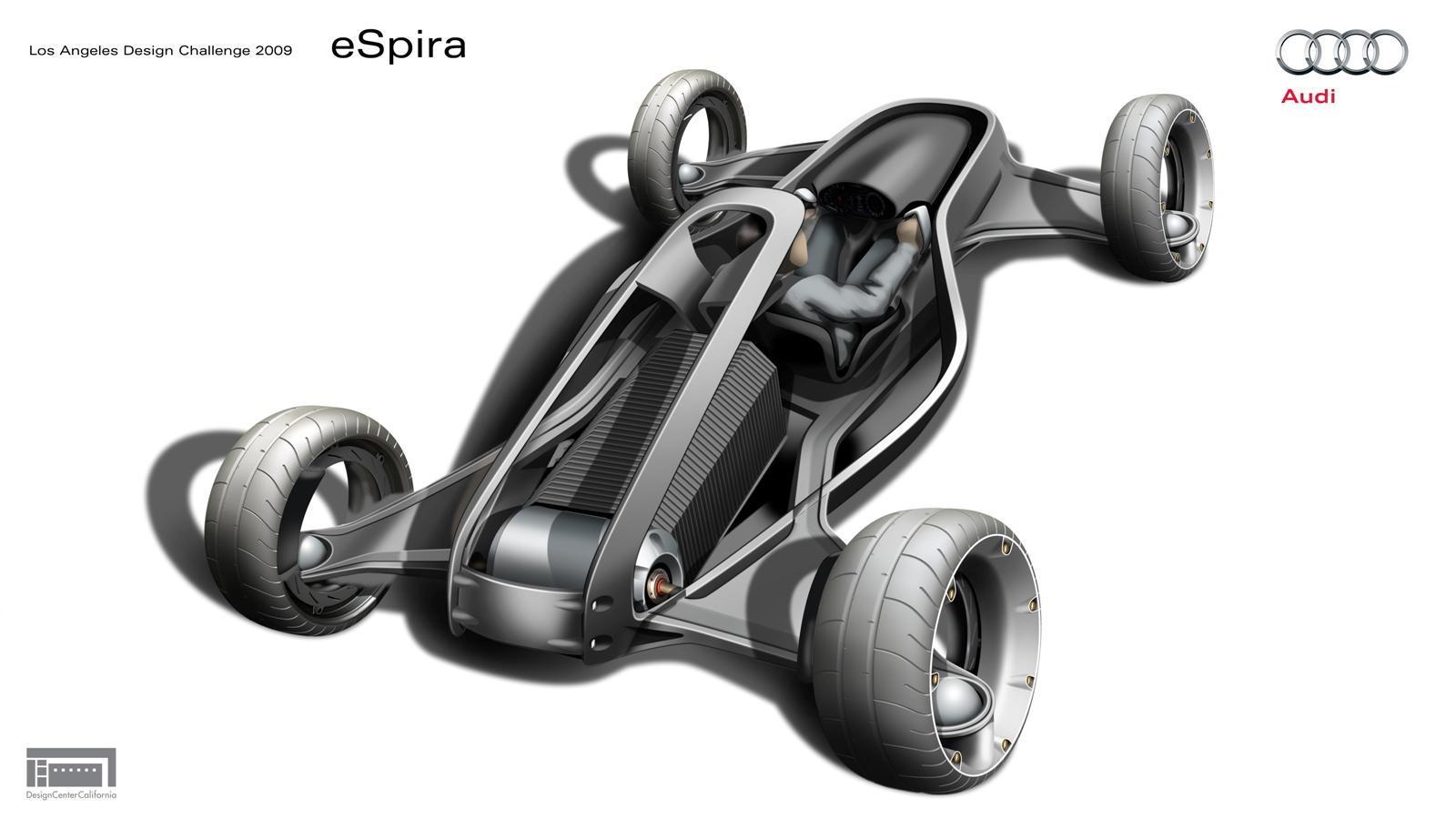2009 Audi Design Challenge Entries eOra and eSpira