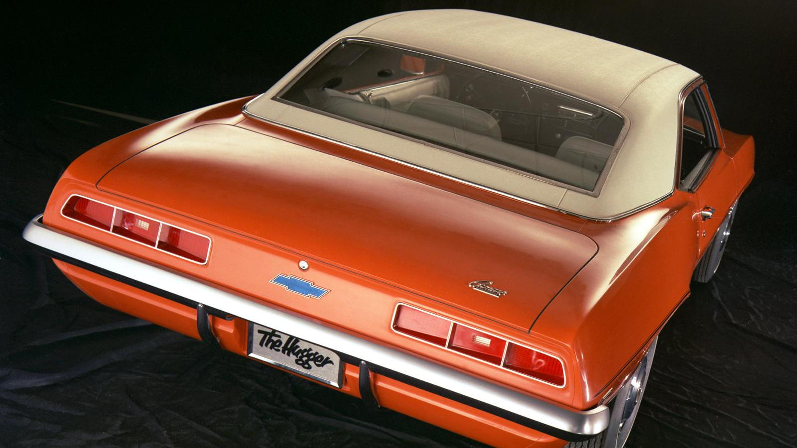 1969 Chevrolet Camaro in Hugger Orange