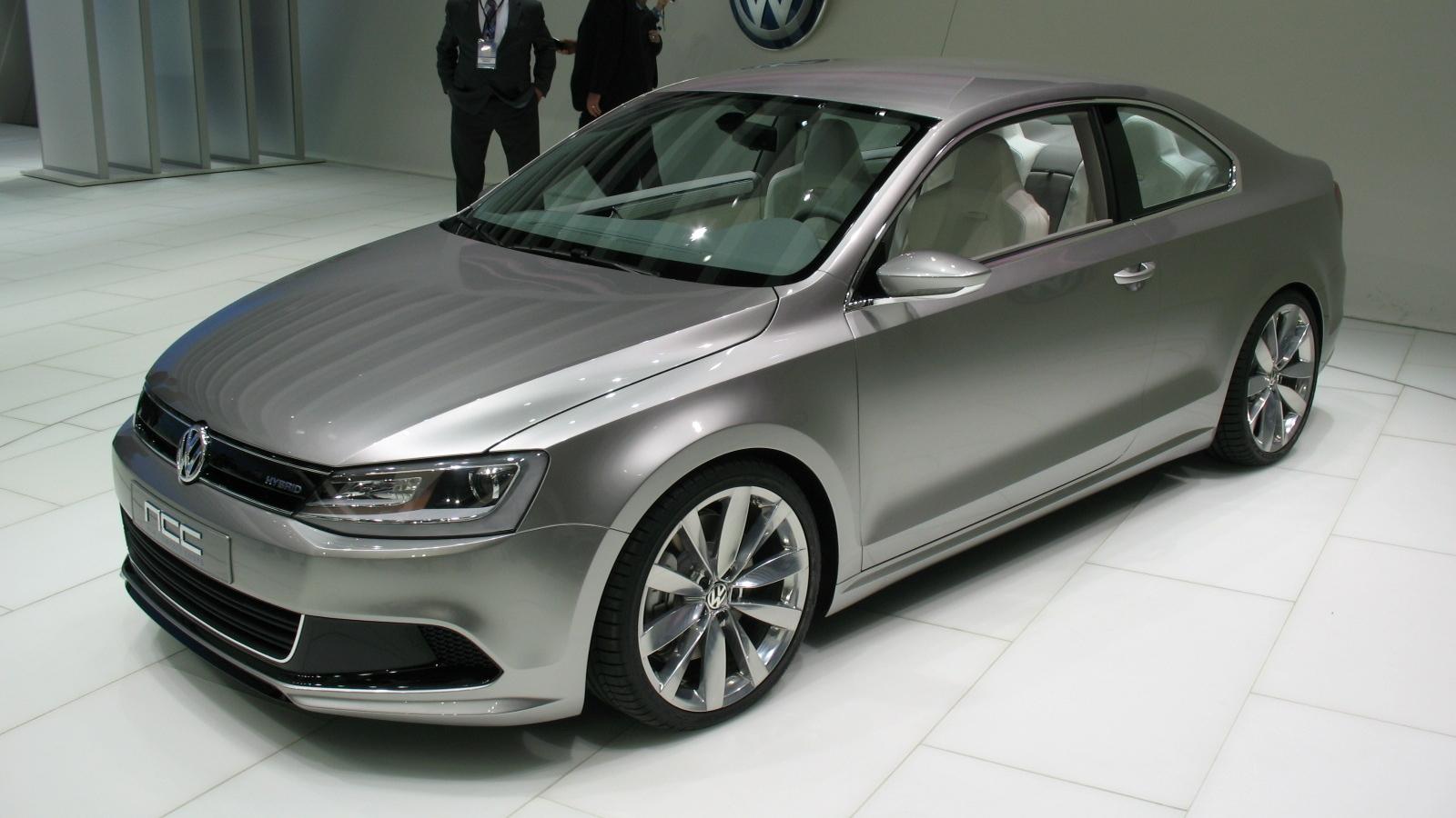 Detroit Auto Show: Volkswagen New Compact Coupe (NCC) concept