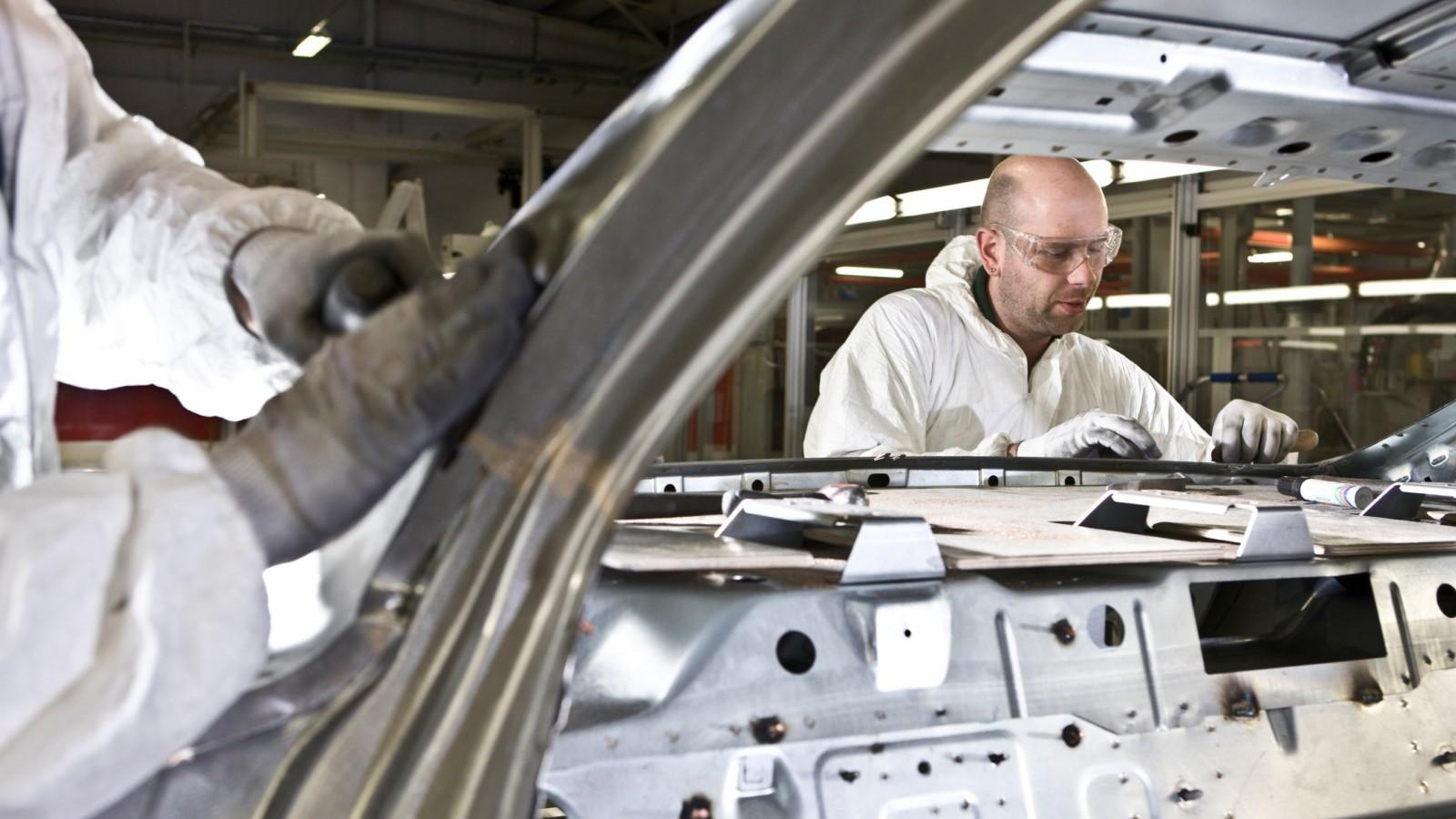 Building the 2011 Bentley Mulsanne