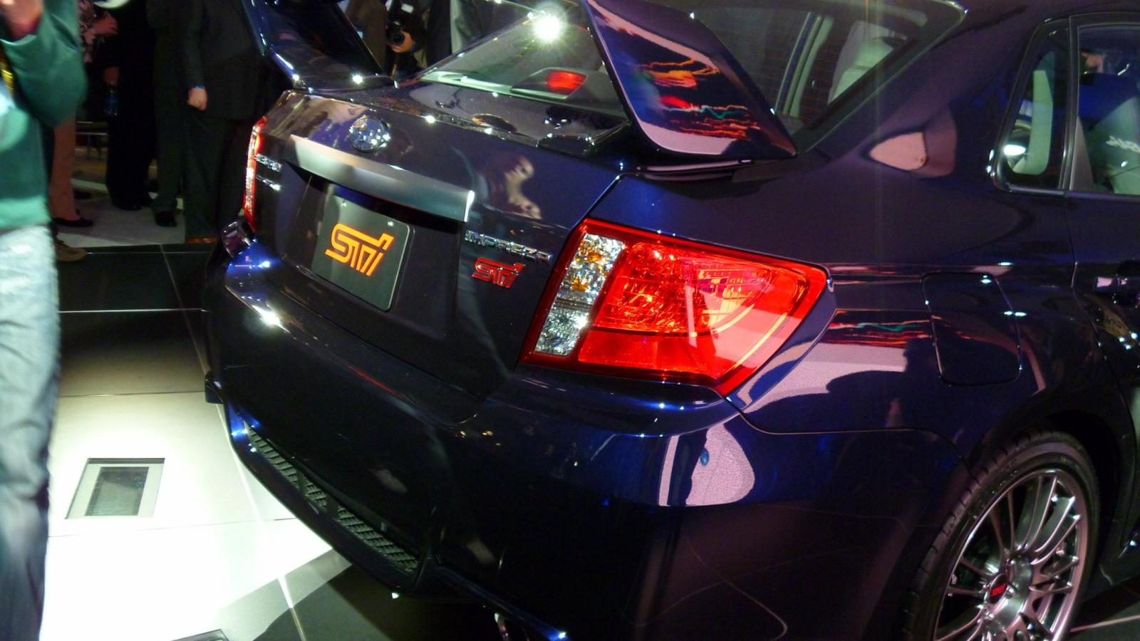 2011 Subaru WRX STI sedan