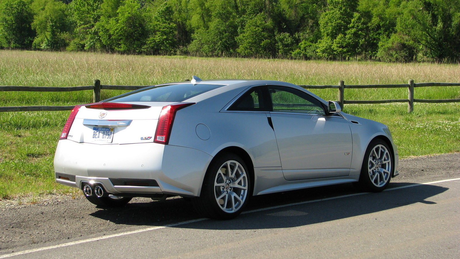 First Ride: 2011 Cadillac CTS-V Coupe