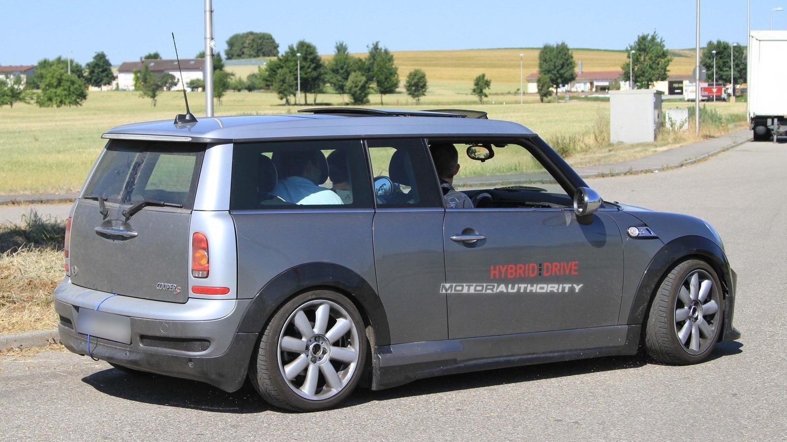 MINI Clubman S Hybrid spy shots