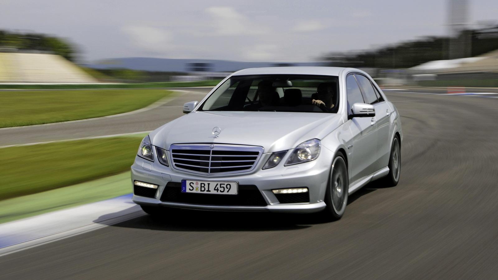 2010 Mercedes-Benz E 63 AMG upgrades