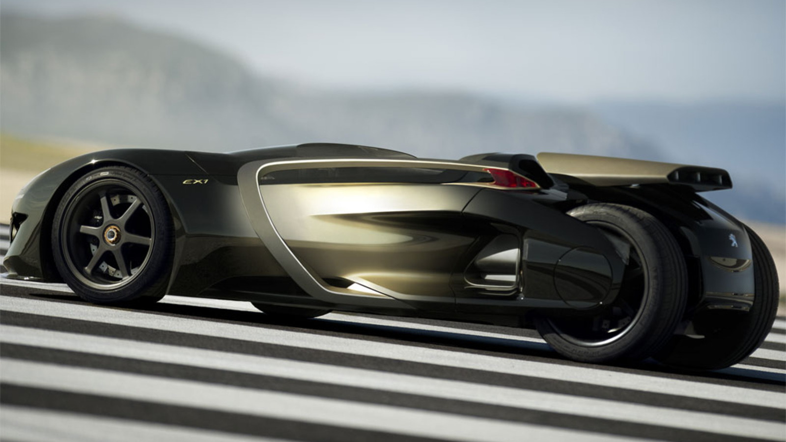 Peugeot EX1 concept electric sports car