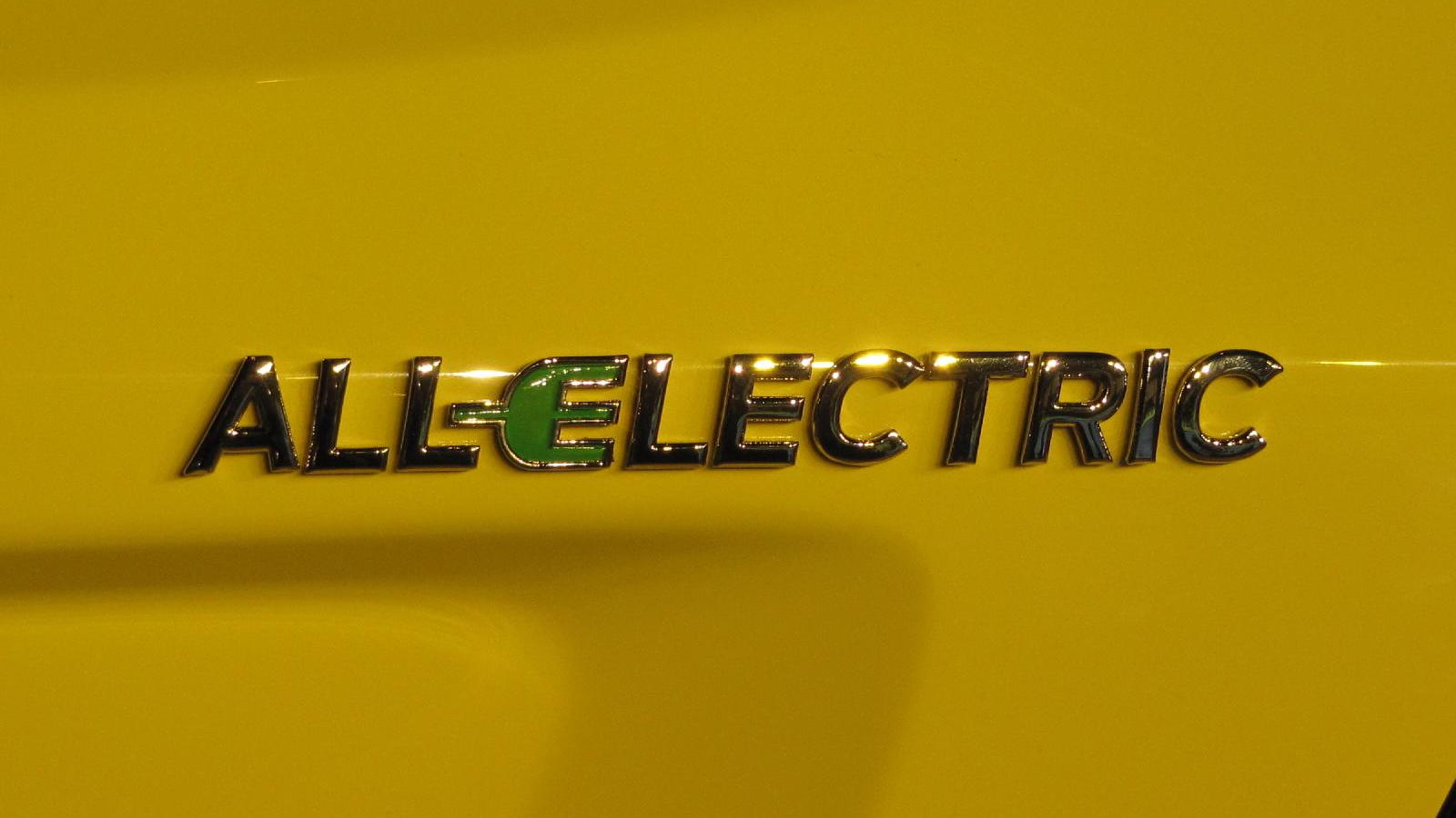 2011 Coda Sedan electric car, 'All Electric' badge, 2010 Los Angeles Auto Show