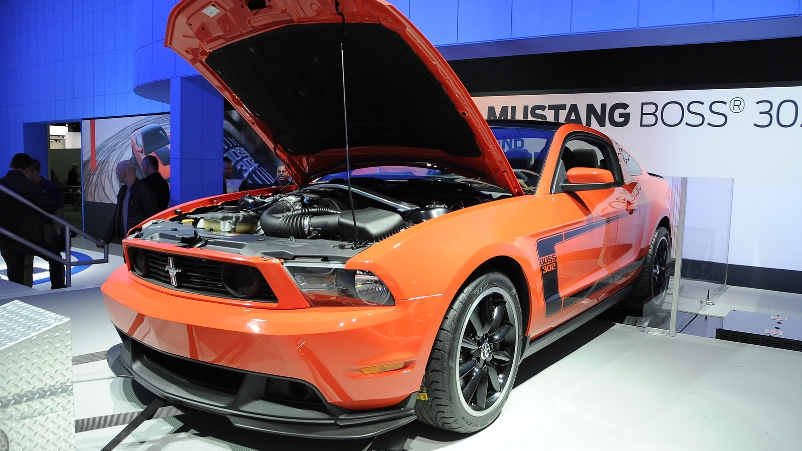 2012 Boss Mustang. Photo by Joe Nuxoll