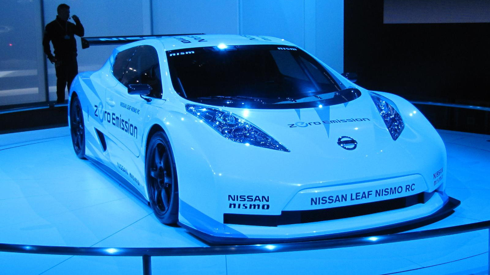 2012 Nissan Leaf Nismo RC Concept, New York Auto Show, April 2011
