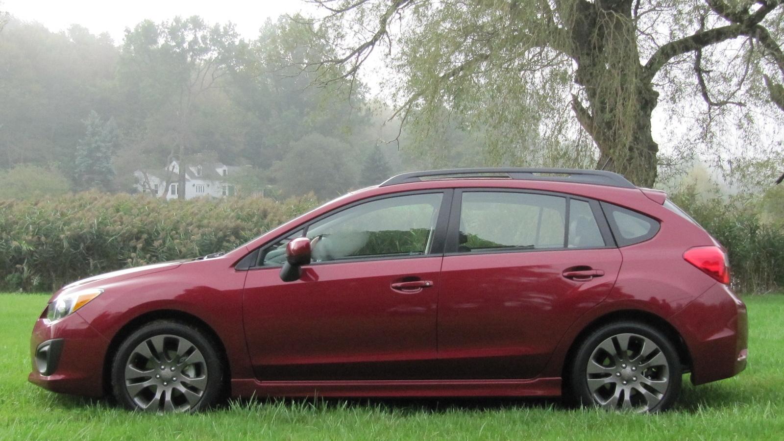 2012 Subaru Impreza hatchback, Connecticut, Sept 2011