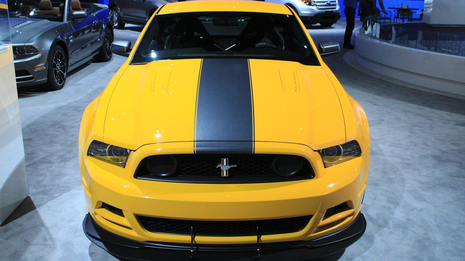 2013 Ford Mustang Boss 302 Laguna Seca live photos
