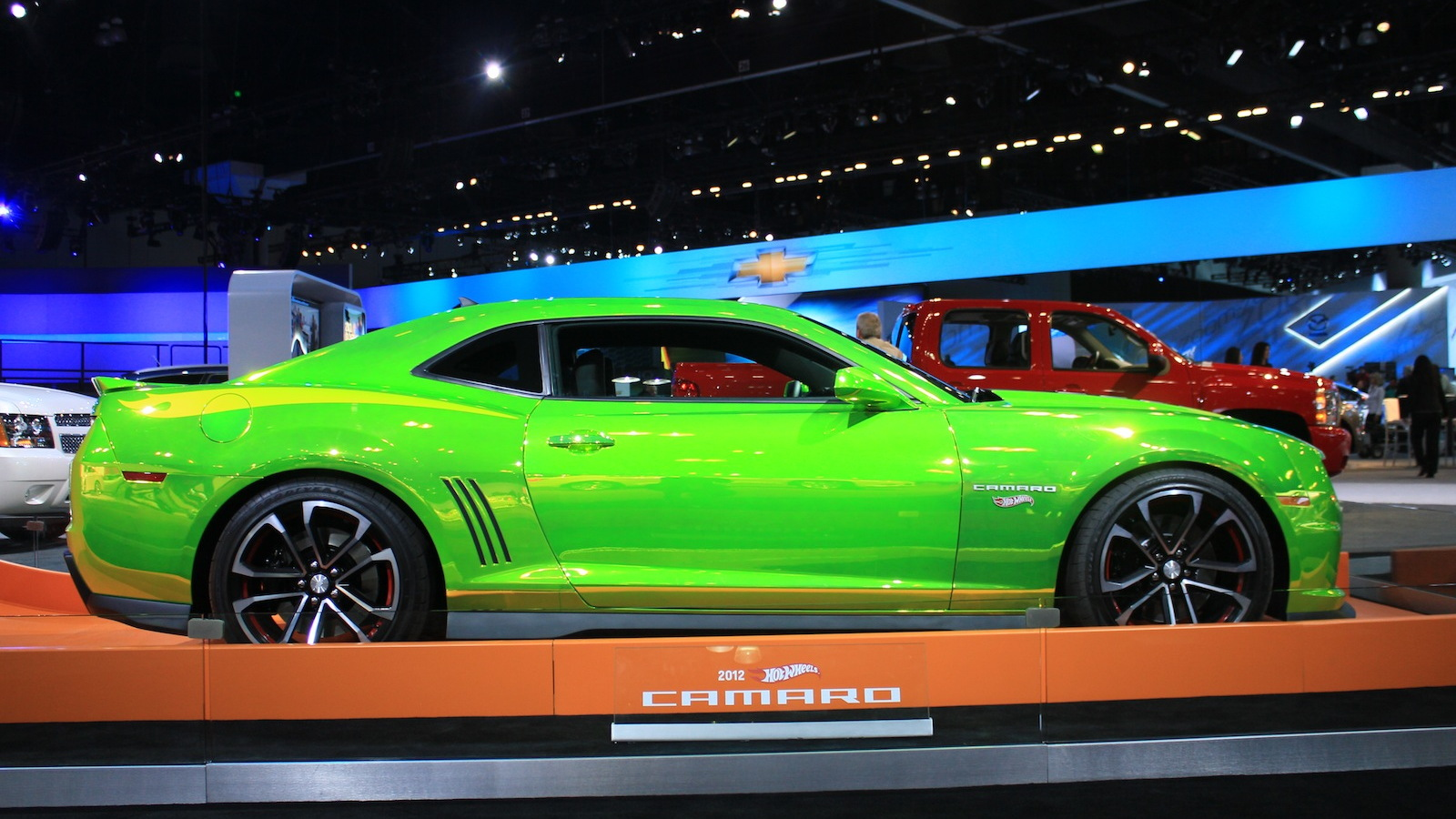 Hot Wheels Camaro at the 2011 Los Angeles Auto Show