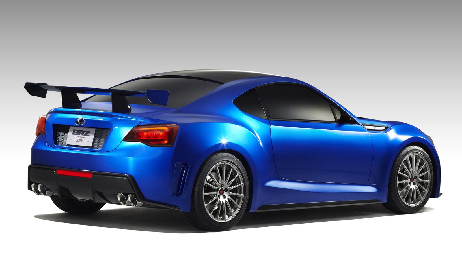 2011 Subaru BRZ Concept - STI