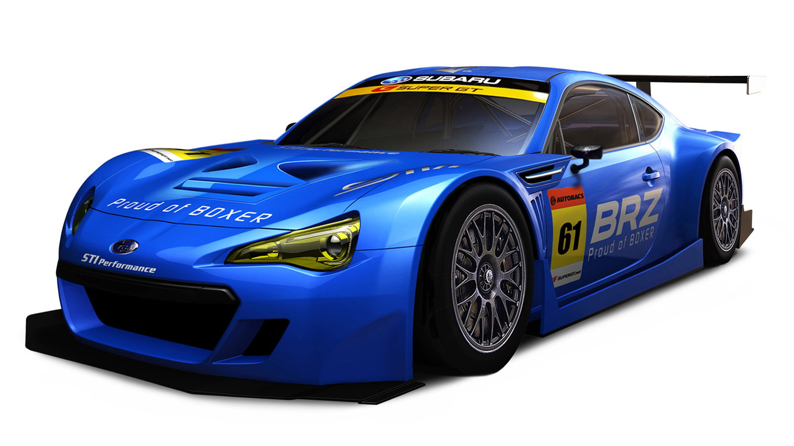 Subaru BRZ GT300 Takes To The Track: Video