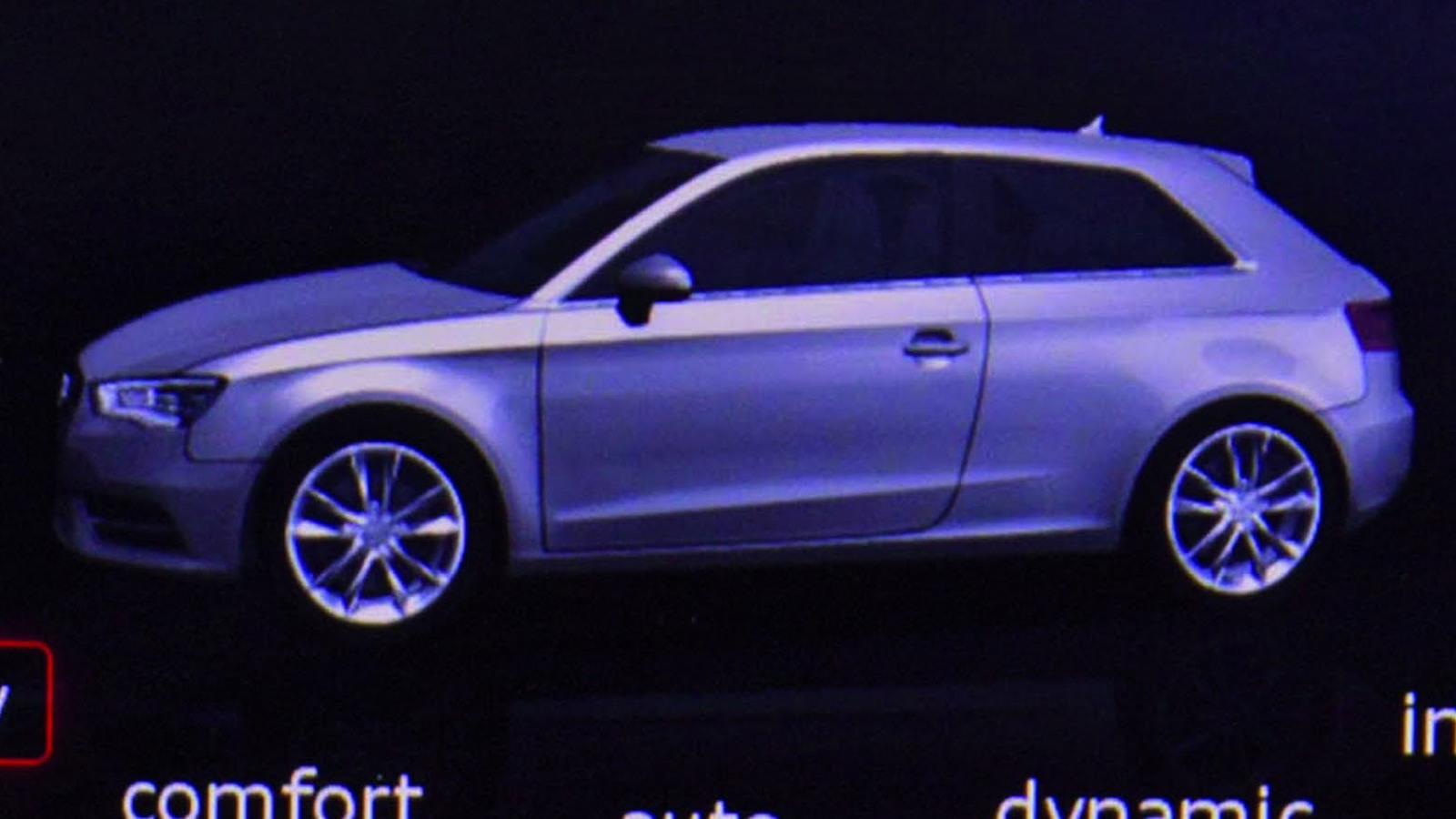 2013 Audi A3 graphic