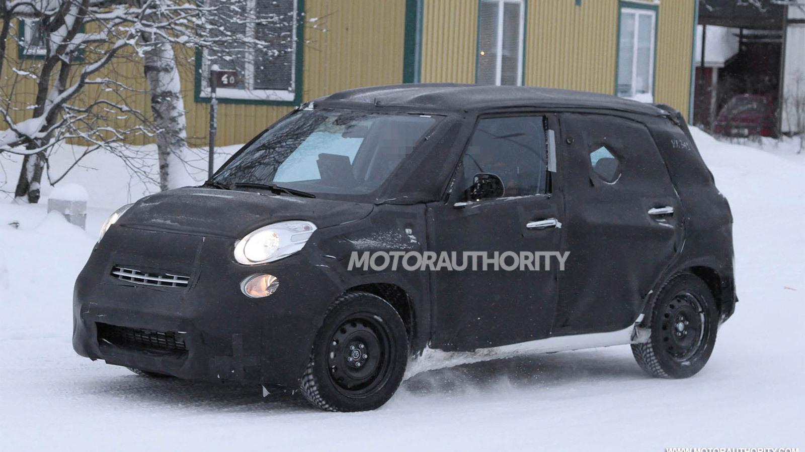 2013 Fiat Ellezero spy shots