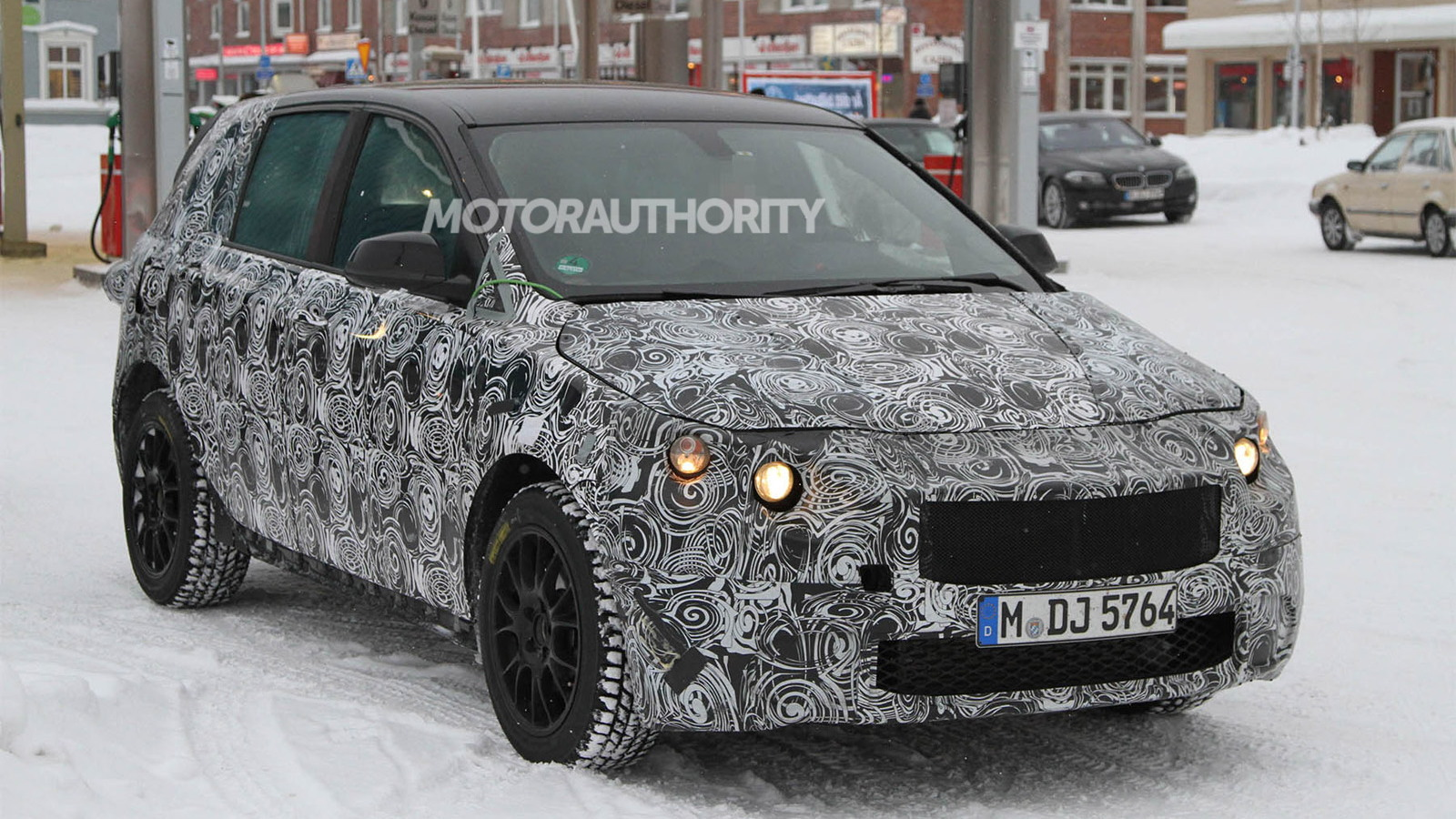 2014 BMW 1-Series Gran Turismo spy shots