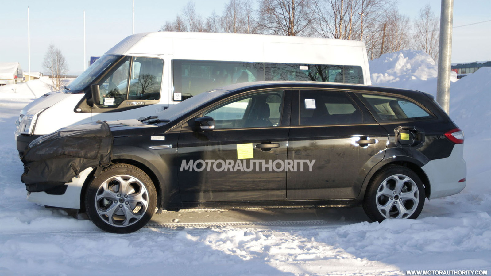 2013 Ford Mondeo Turnier Wagon test-mule spy shots
