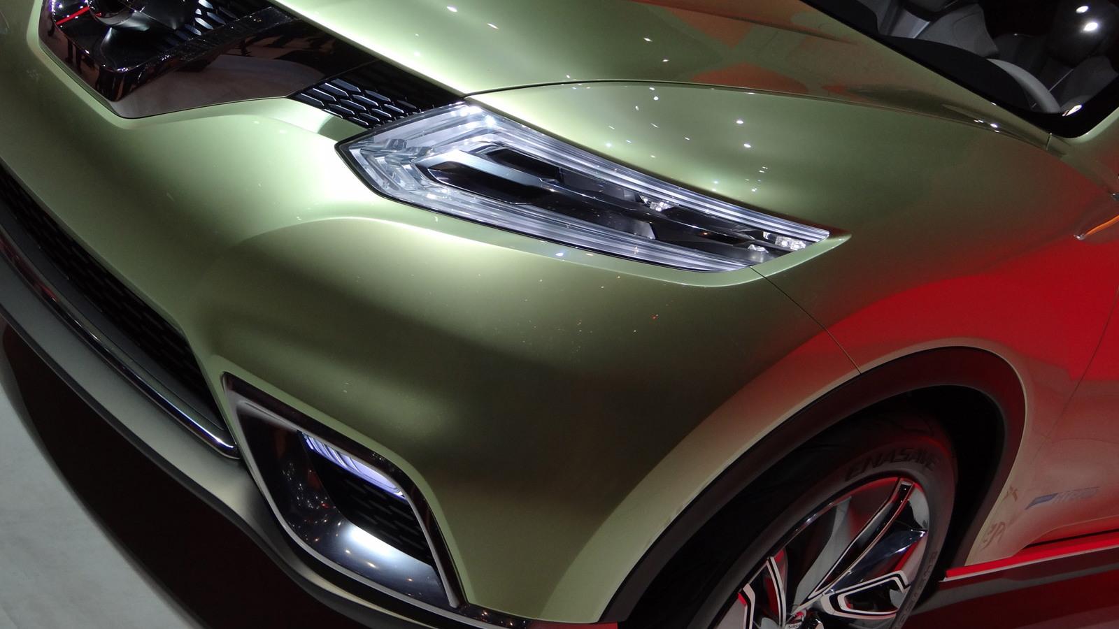 2012 Nissan Hi-Cross Concept live photos
