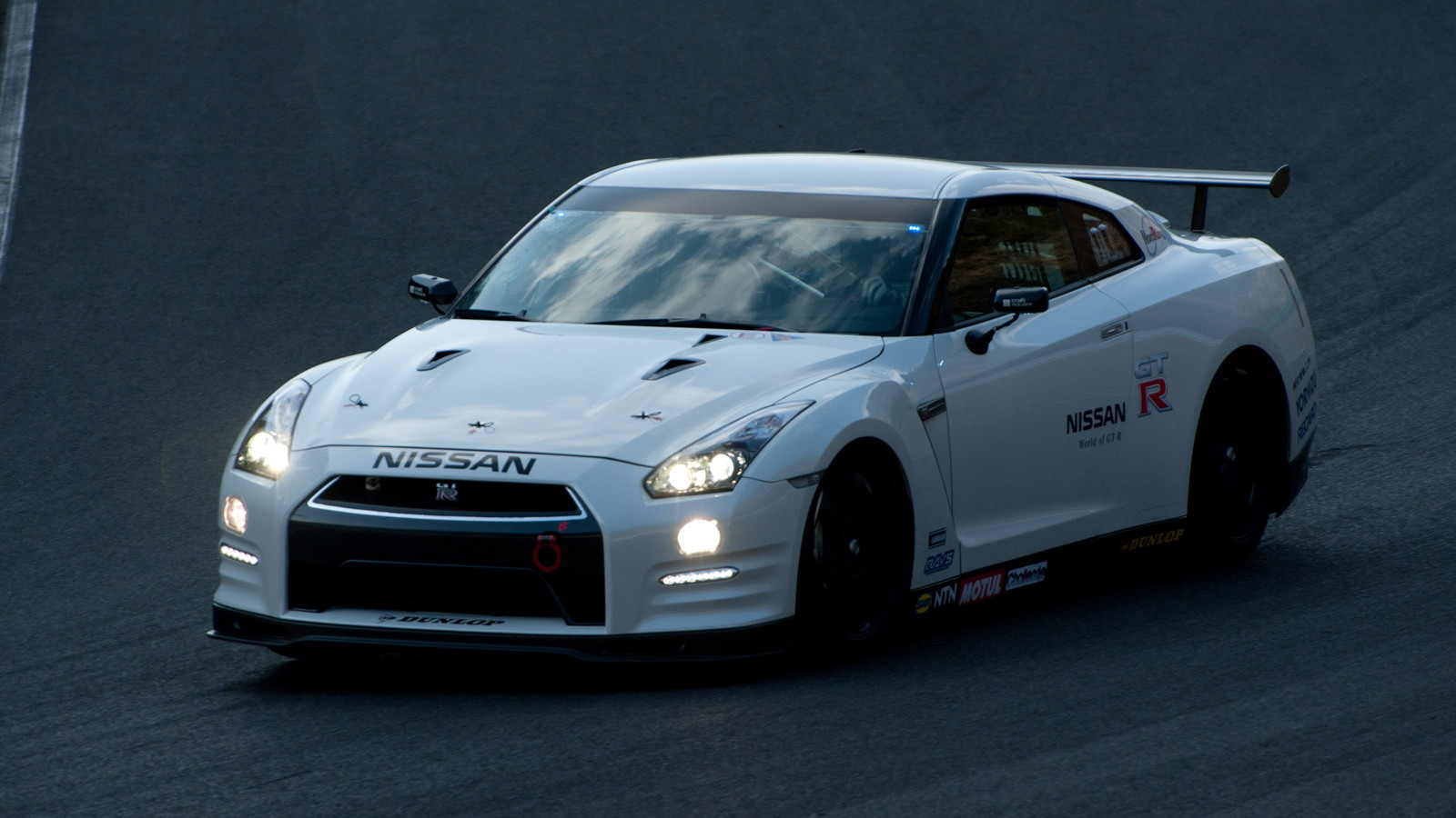 2013 Nissan GT-R (Club Track Edition) entering Nürburgring 24 Hours