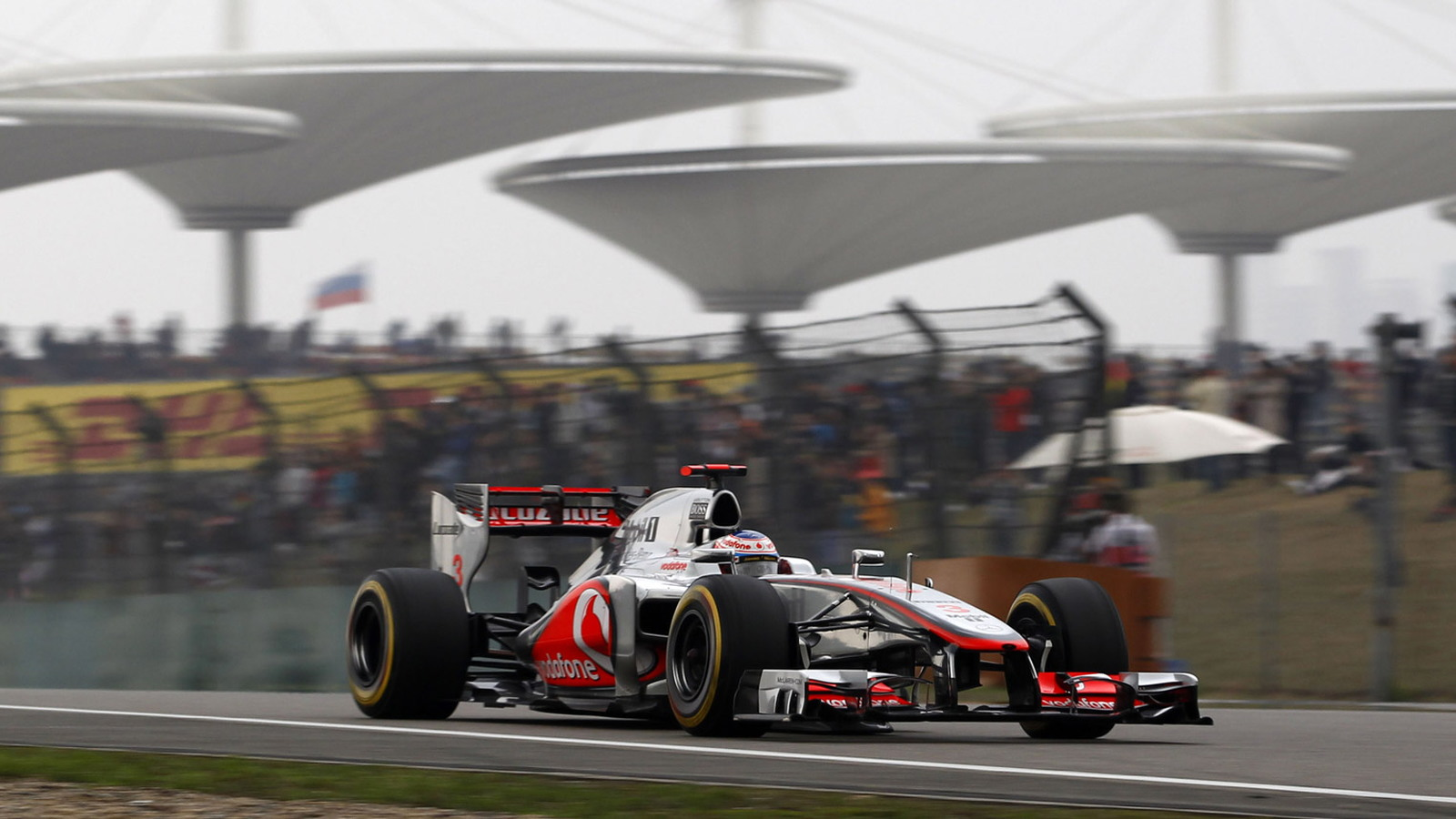 McLaren at the 2012 Formula 1 Chinese Grand Prix