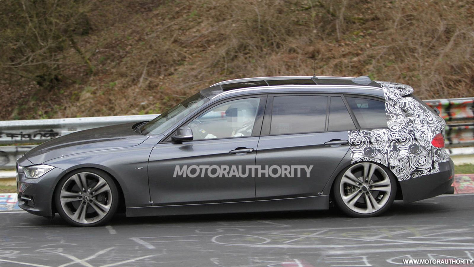 2013 BMW 3-Series Touring wagon spy shots