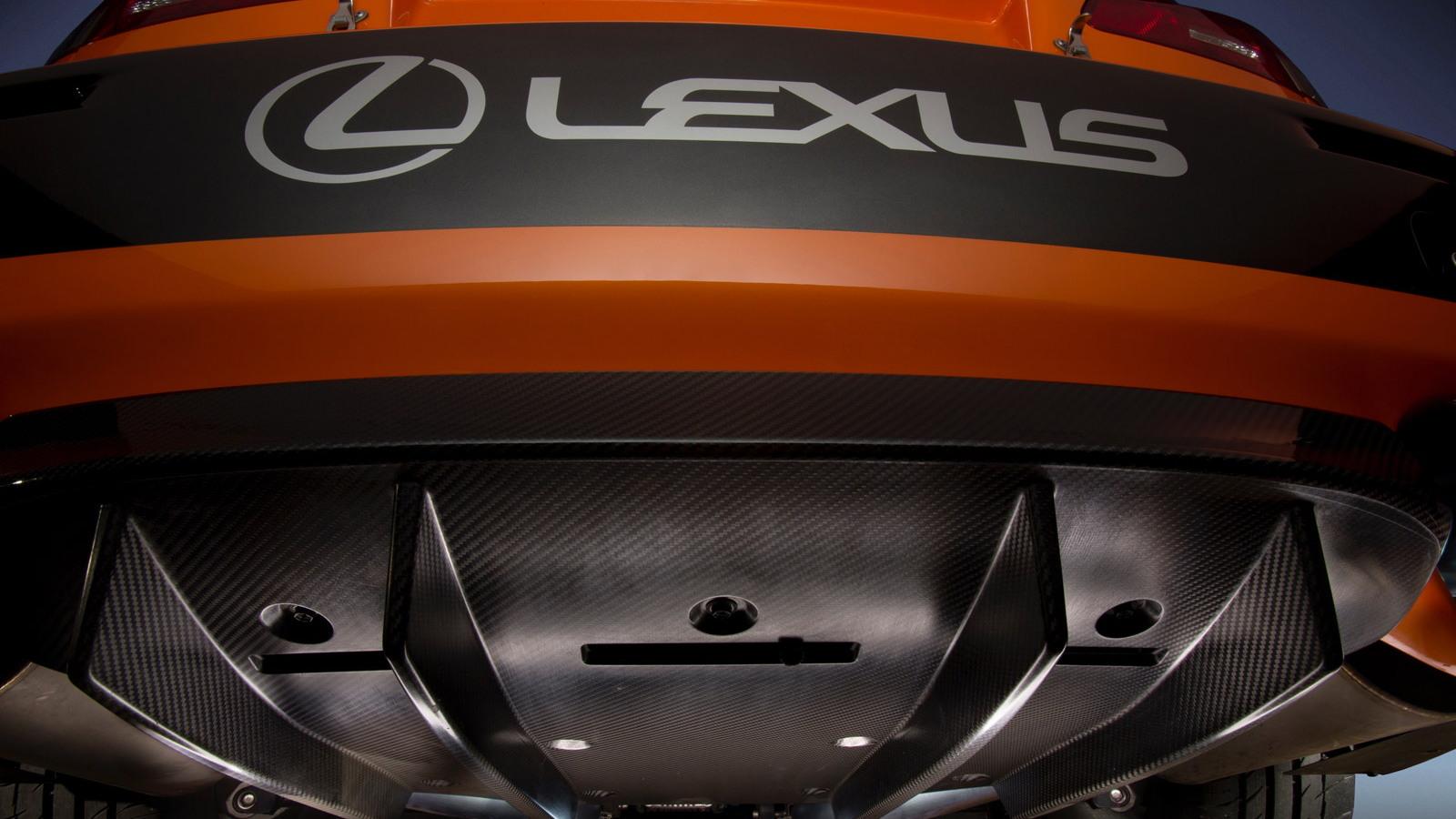 2012 Lexus IS F CCS-R race car