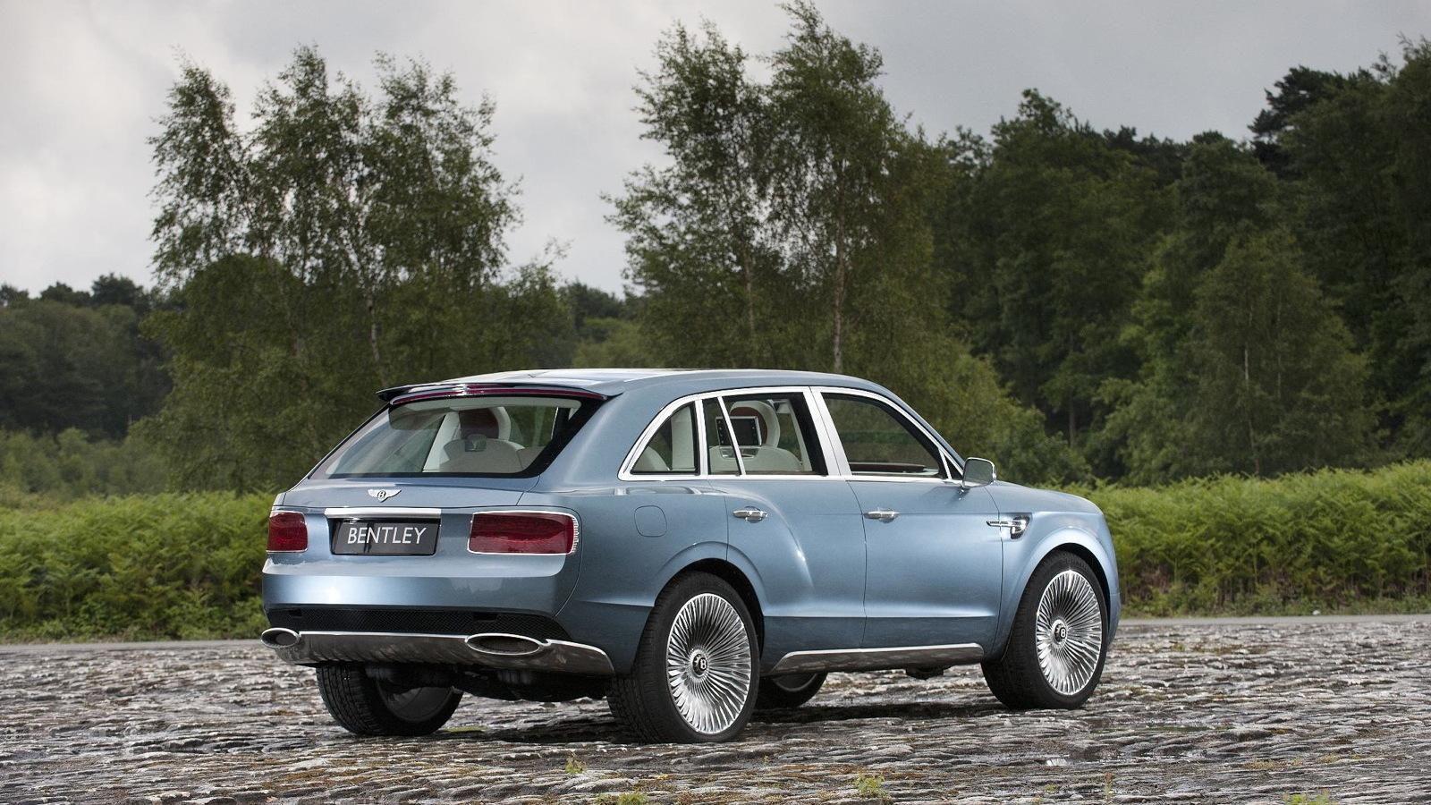 Bentley's EXP 9 F SUV concept