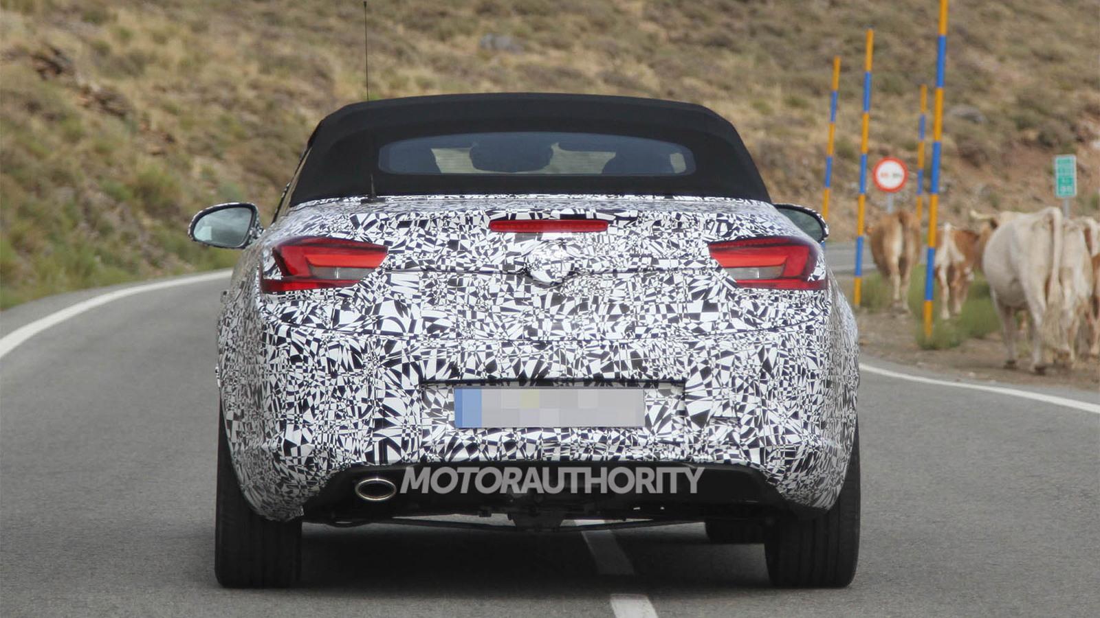 2013 Opel Astra Cabrio spy shots