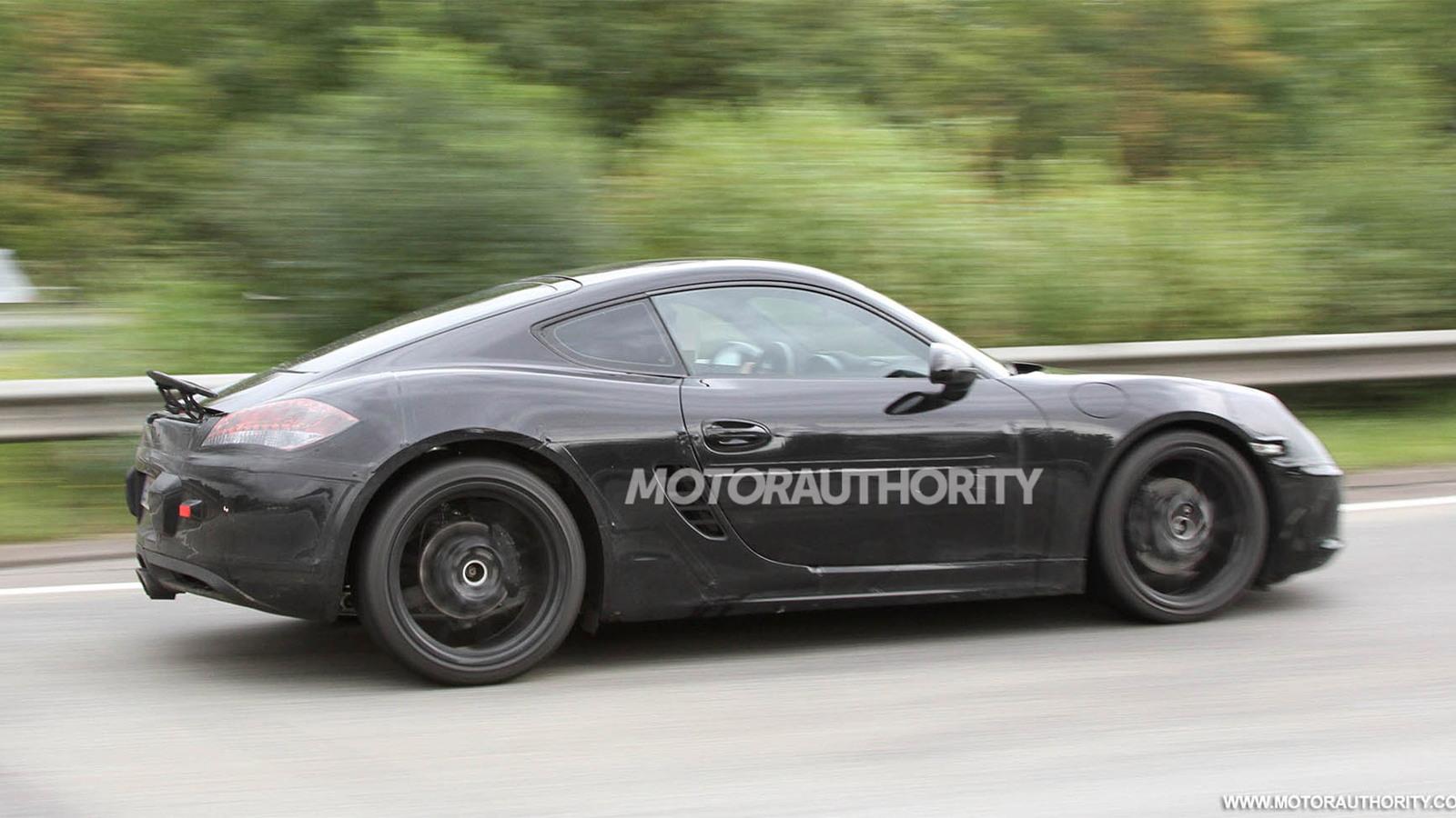 2013 Porsche Cayman spy shots