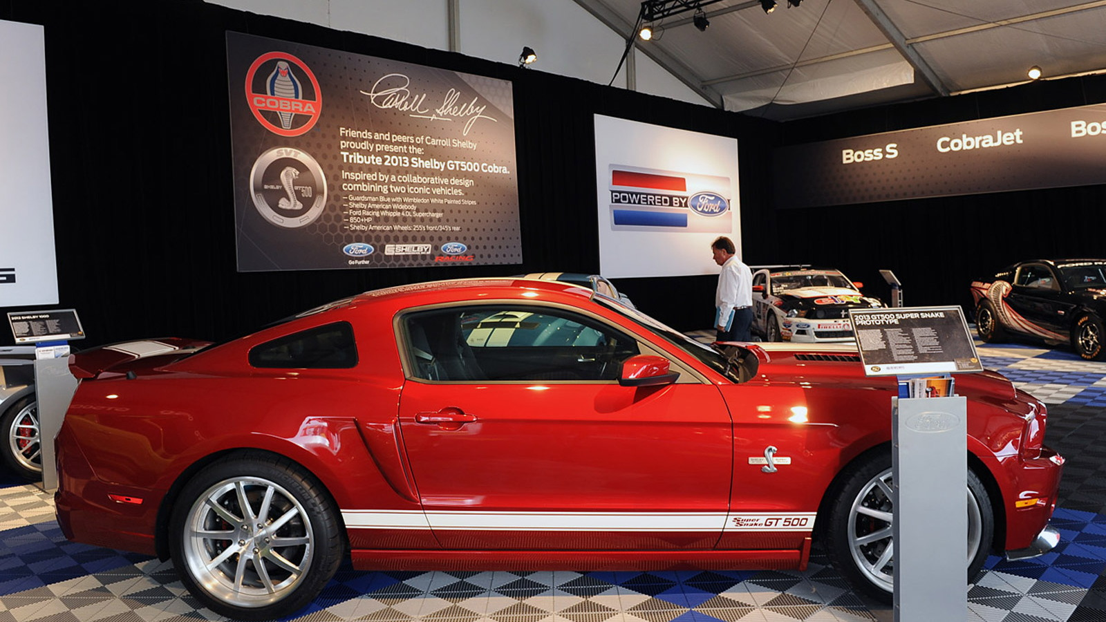 2013 Ford Mustang Shelby GT500 Super Snake prototype
