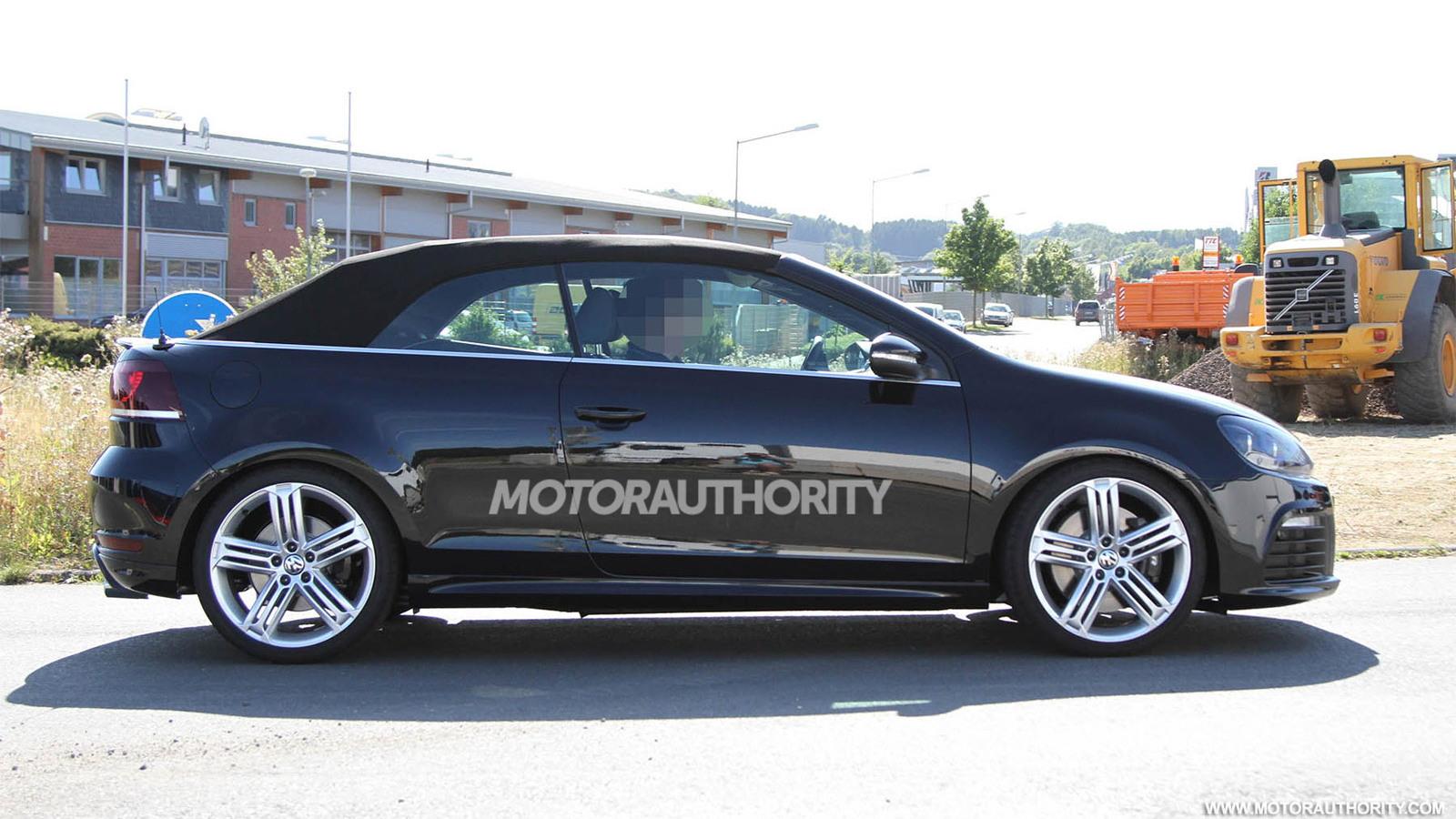 2013 Volkswagen Golf R Cabriolet spy shots