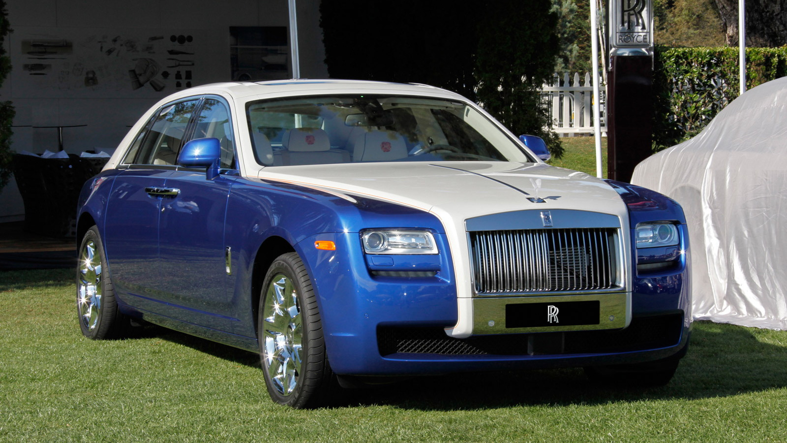 Bespoke 2013 Rolls-Royce Ghost at 2012 Pebble Beach Concours d'Elegance