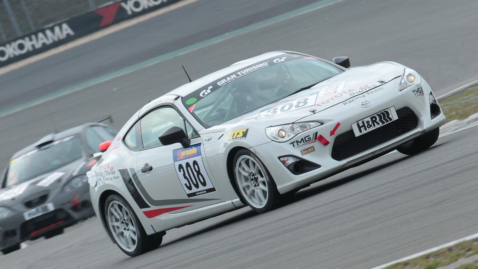 Toyota GT 86 CS-V3 race car built by Toyota Motorsport GmbH