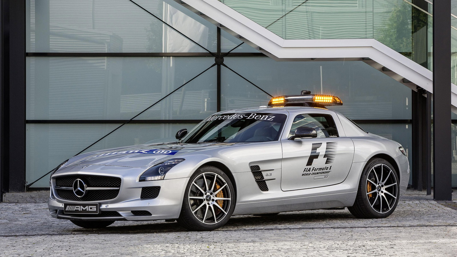 Mercedes-Benz SLS AMG GT is the official safety car for the 2012 Formula 1 season