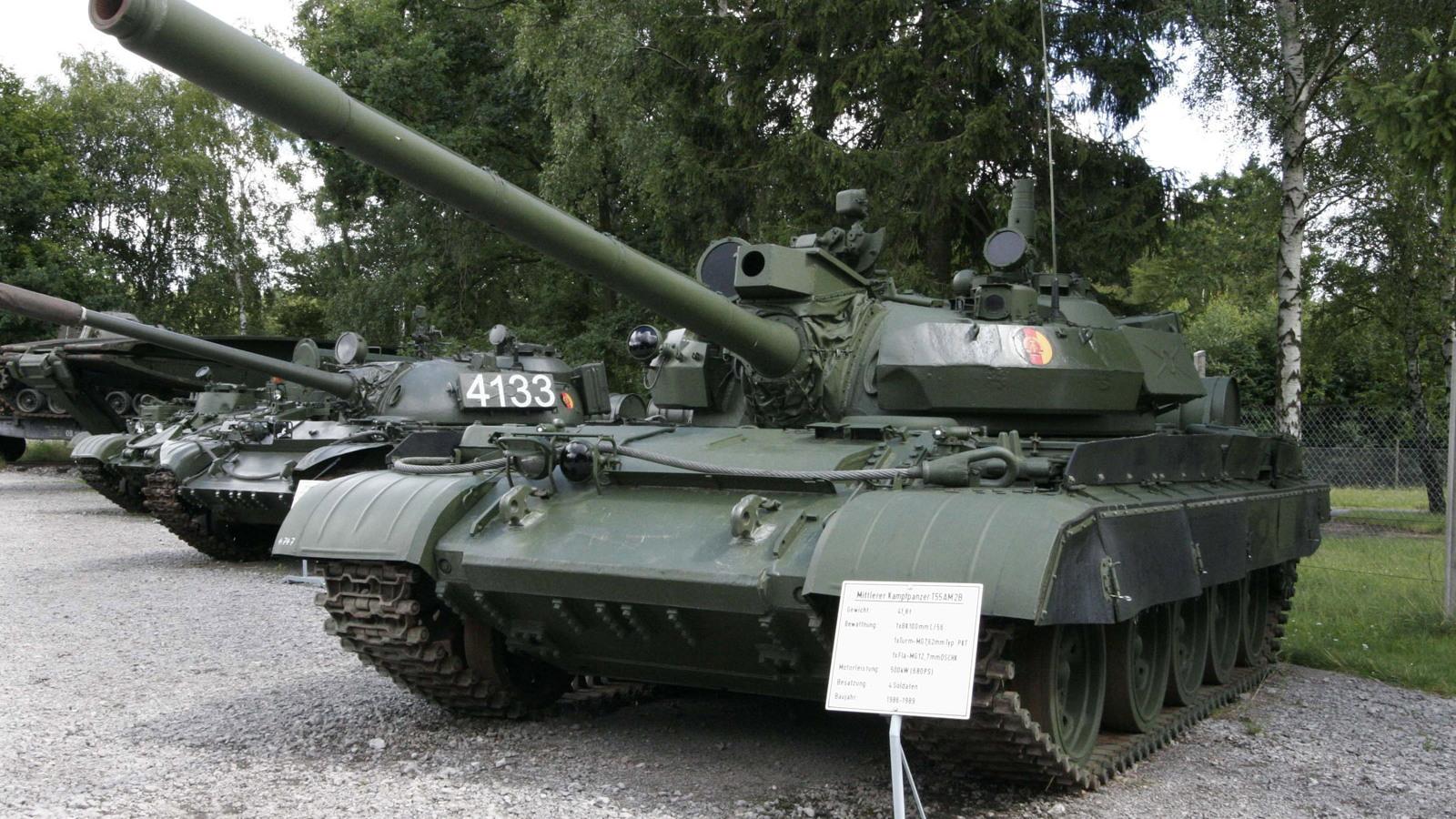 T-55M5 Russian tank